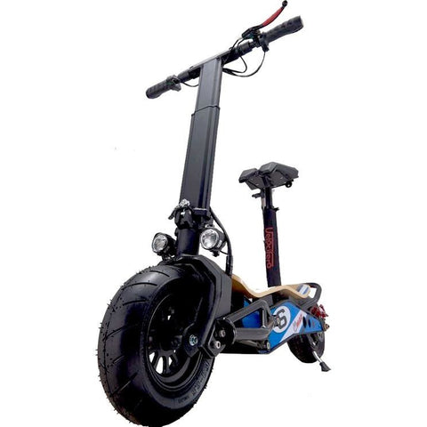 MotoTec MiniMad 800w 36v Lithium Electric Scooter front tire
