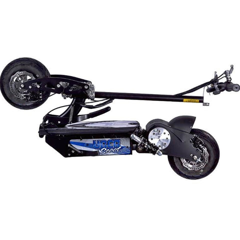 racing scooter folded