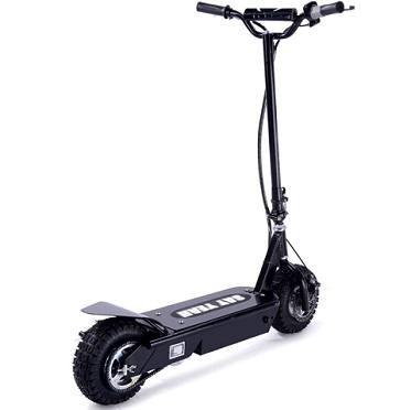 collapsible electric power scooter
