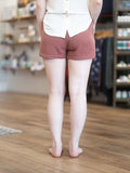 Rosewood Runner Shorts - Berry