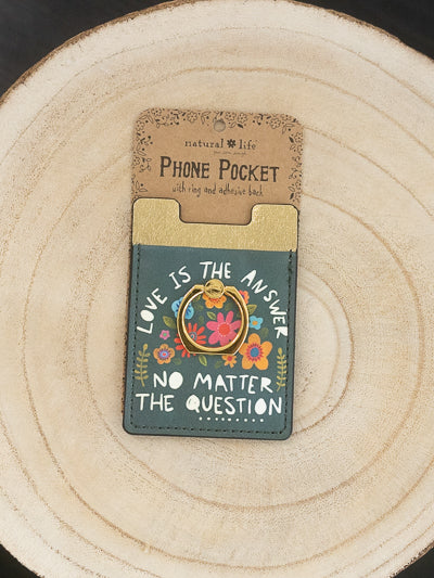 Phone Pocket Ring - Love