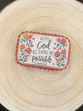 Prayer Box - All Things Possible