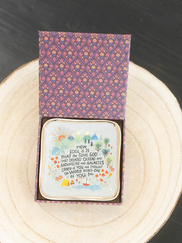 Trinket Dish with Gift Box - How Cool Is It