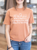 Easy Like Sunday Morning Graphic Tee