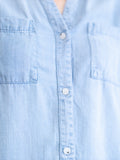 Ginger Chambray Top