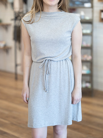 Hayden Knit Drawstring Dress