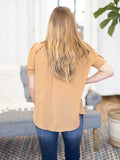 Roger Puff Sleeve Blouse