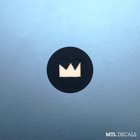 Basquiat Macbook Decal / Crown Macbook Sticker