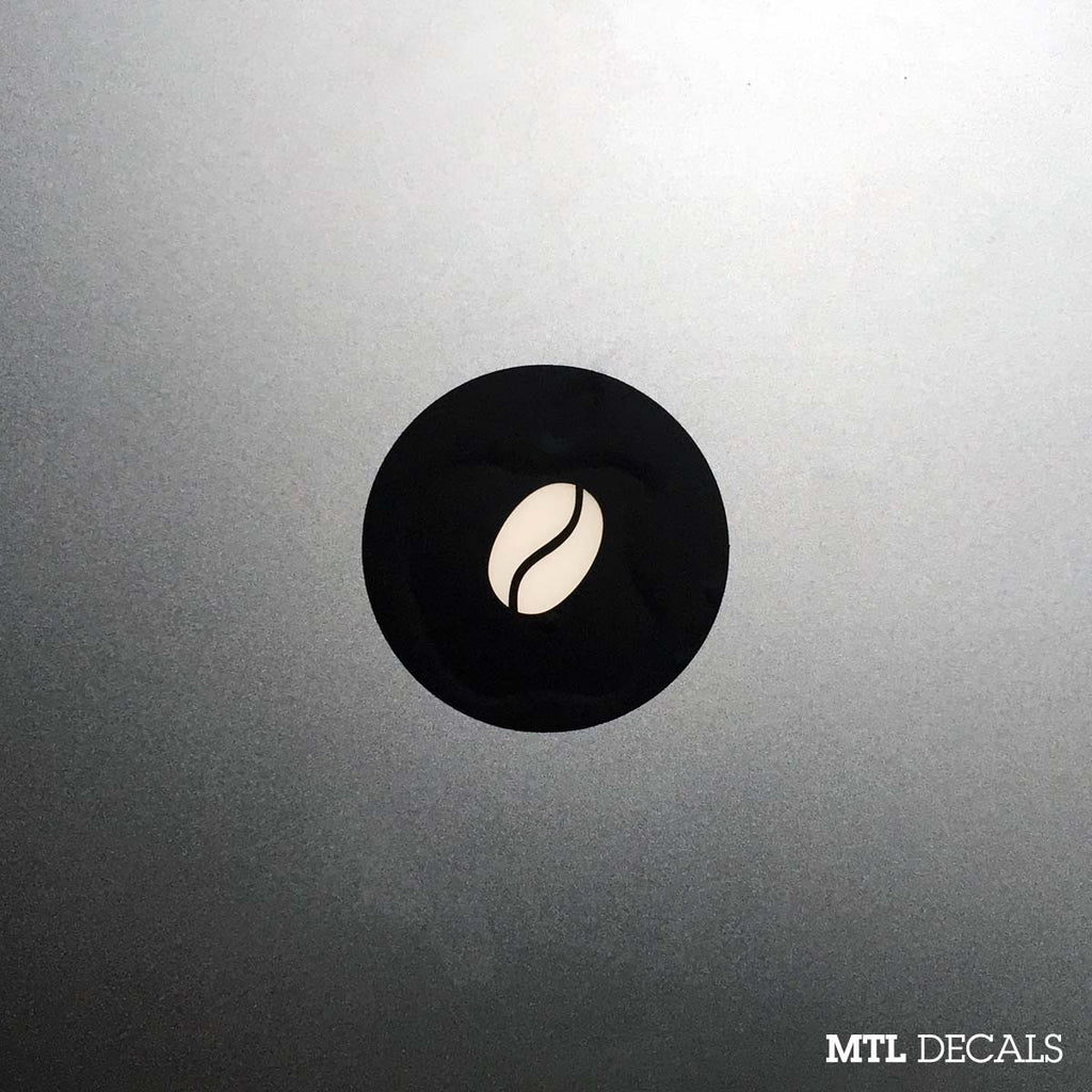 Coffee Macbook Decal / Coffee Bean Macbook Sticker