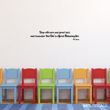 "Dr Seuss Wall Decal Wall Quote Sticker (36"" x 6.78"")"
