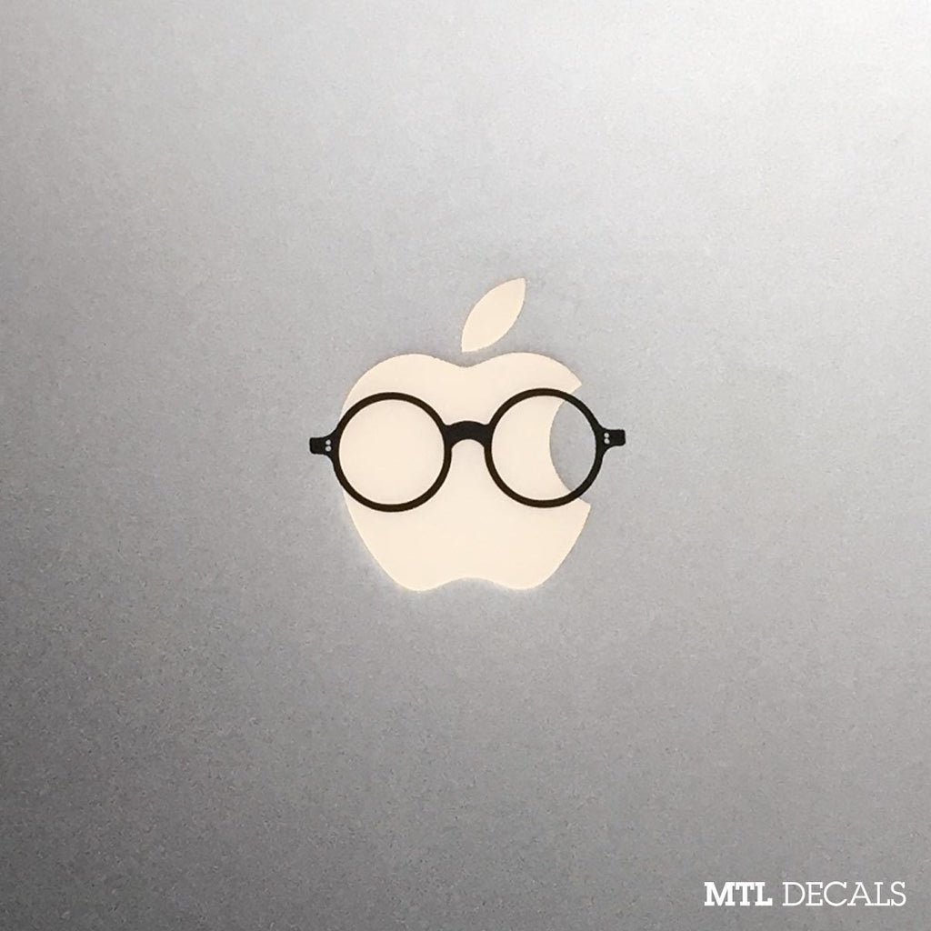 Vintage Glasses Macbook Decal / Macbook Sticker