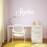 Custom Name wall decals, kids room decor
