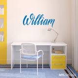 Custom Name wall decals, Kids room Ideas