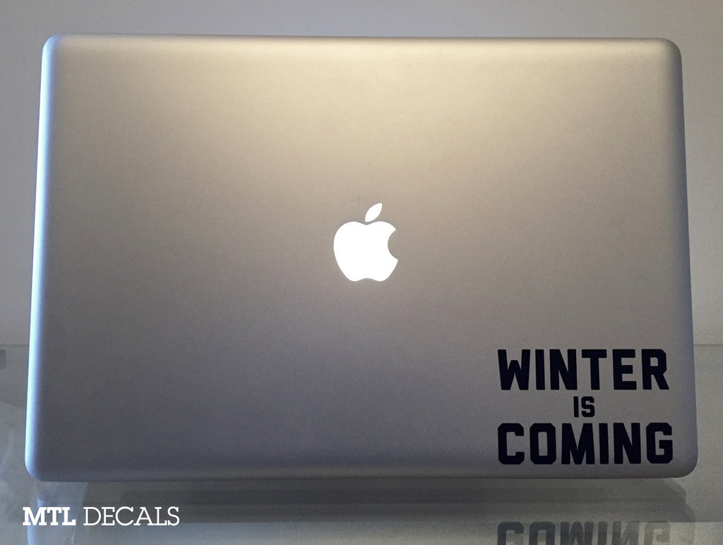 Winter is Coming Game of Thrones Laptop Sticker Decal Skin
