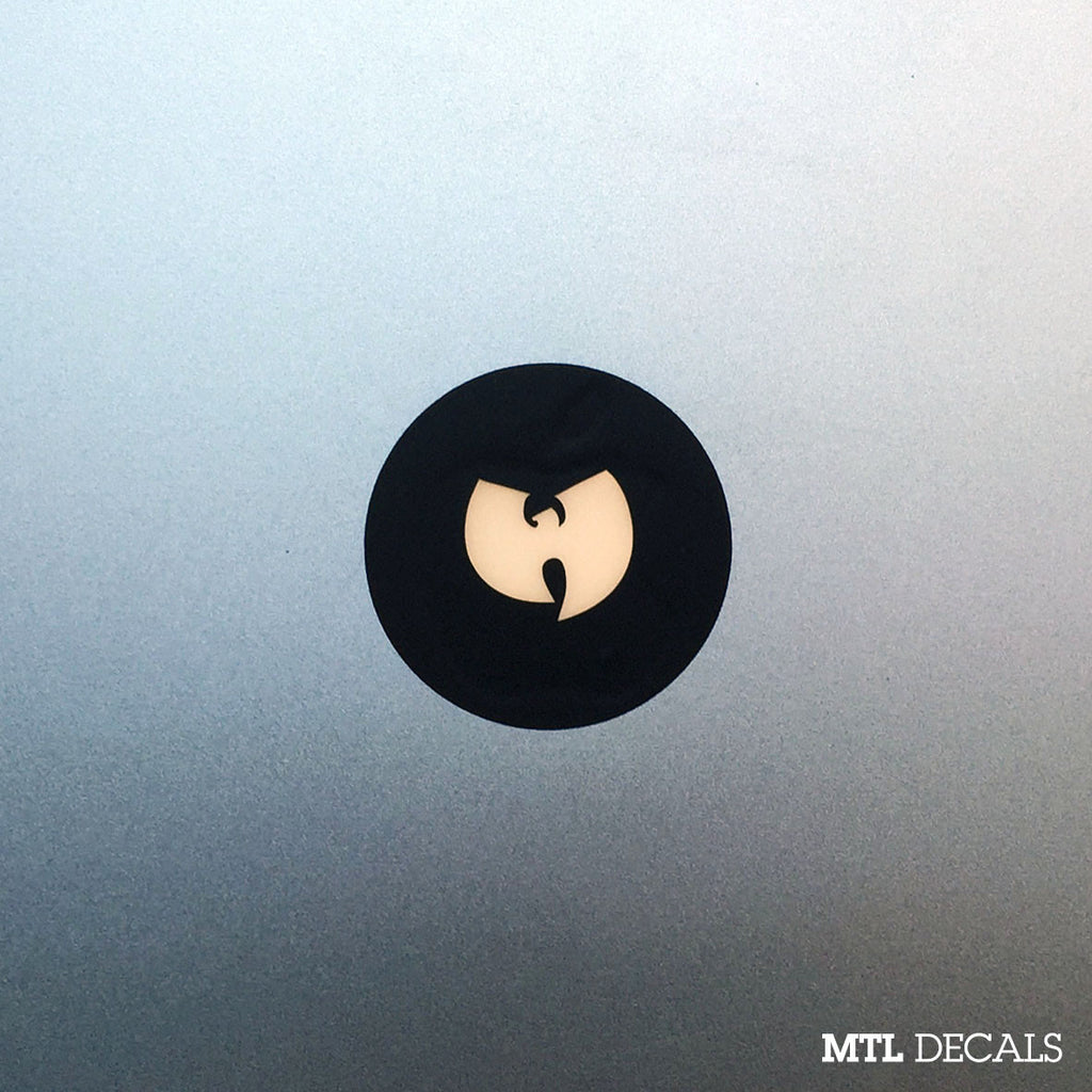 Wutang Macbook Decal / Wu Macbook Sticker