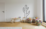 Cactus Growth Chart Wall Decal / Kids Wall Sticker / Home Decor / Children's Room / Gift Ideas