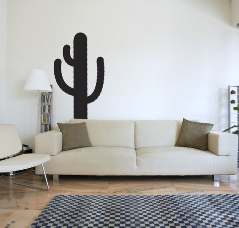 "Cactus Wall Decal (75"" x 33"") Wall Sticker"