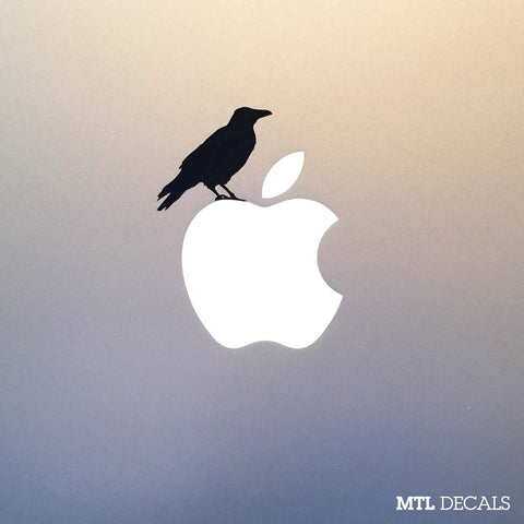 Crow Macbook Decal / Macbook Pro Sticker