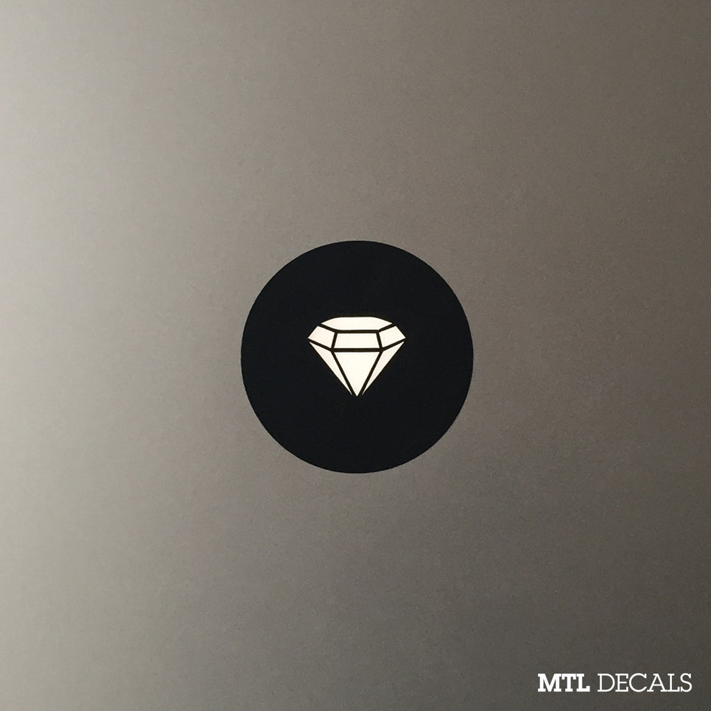 Diamond Macbook Decal / Gem Macbook Pro Sticker