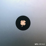 Four Leaf Clover Macbook Decal / Lucky Macbook Pro Sticker