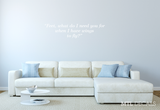 Wings to fly Wall Decal Quote / Frida Kahlo Wall Sticker / Bedroom Wall Decor / Home Decor