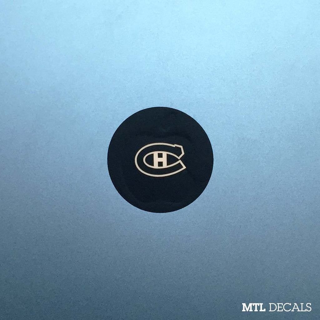 Habs Macbook Decal / Montreal Canadiens Macbook Pro Sticker