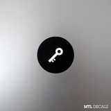 Key Macbook Decal / Key Emoji Macbook Pro Sticker