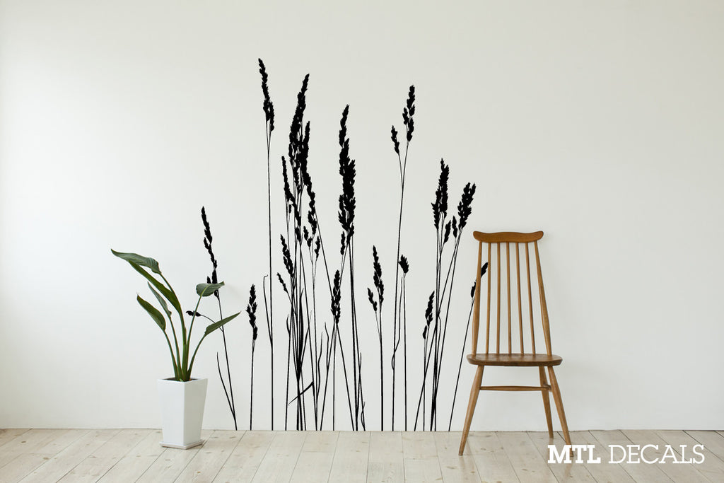 Reeds Wall Decal