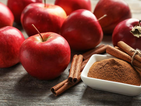 Apples and Cinnamon Dark Colored Plant Pigment Polyphenols