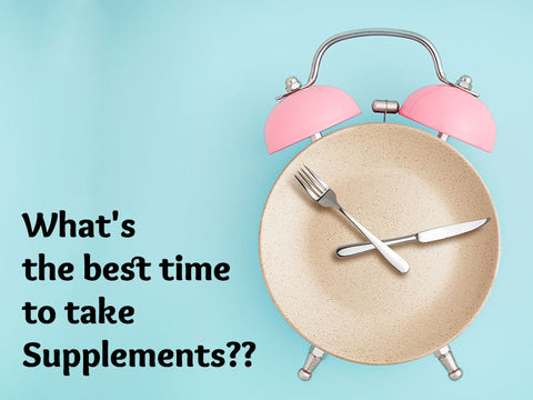 What's the Best Time to Take Supplements?