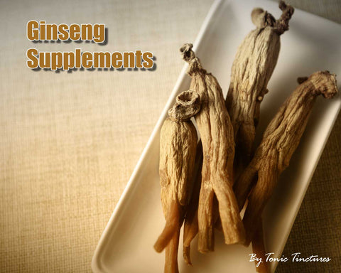 Ginseng Tincture Supplement Collection