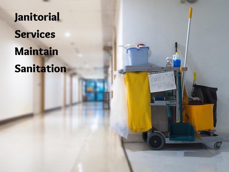 Janitorial Services Maintain Sanitation