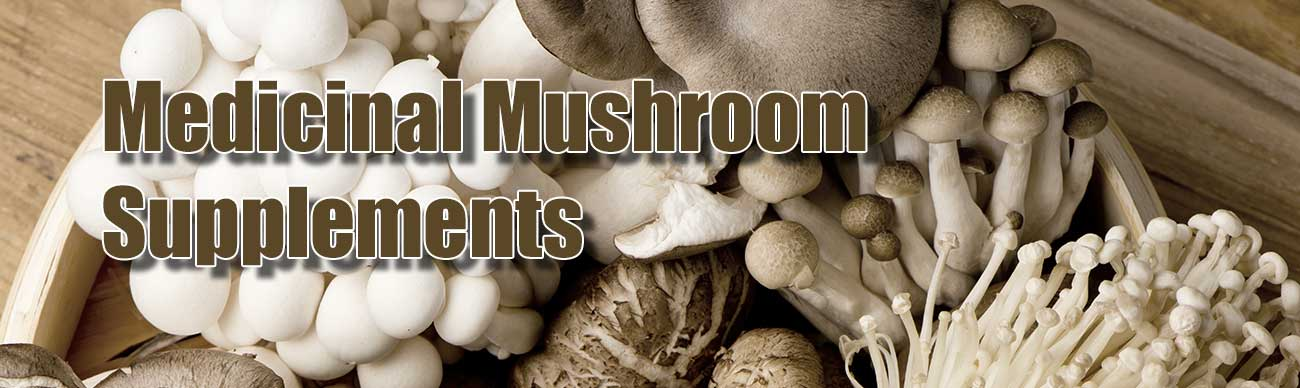Medicinal Mushroom Supplements Collection
