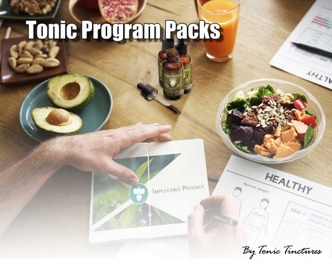 Tonic Program Tincture Supplement Collection