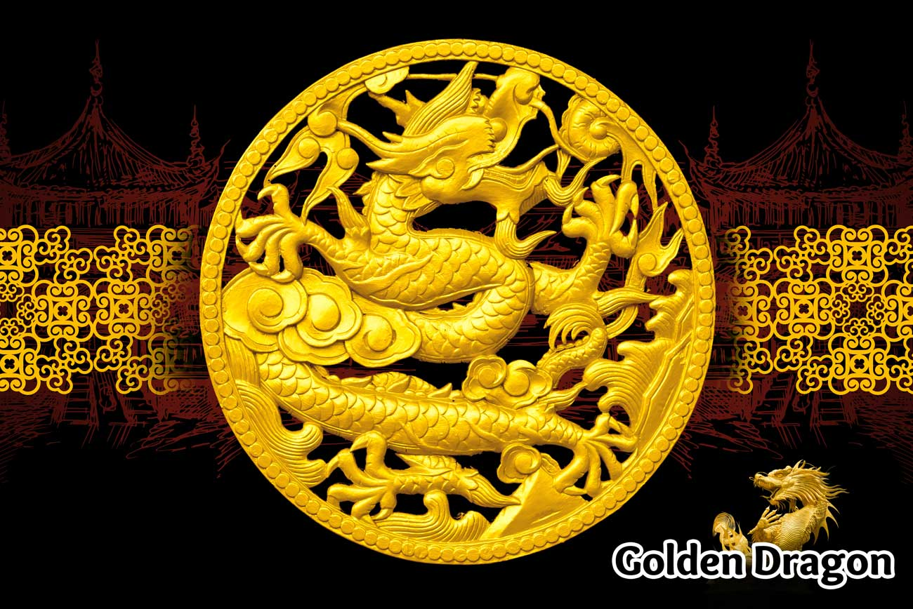 Golden Dragon Supplement Poster