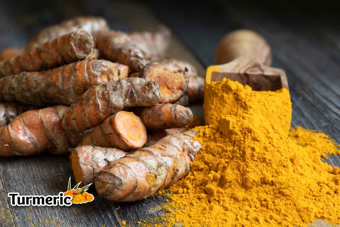 Turmeric Supplement Poster