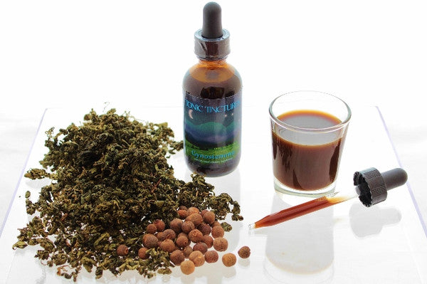 Gynostemma Jiaogulan Liquid Extract Tincture Supplement Made with Allspice