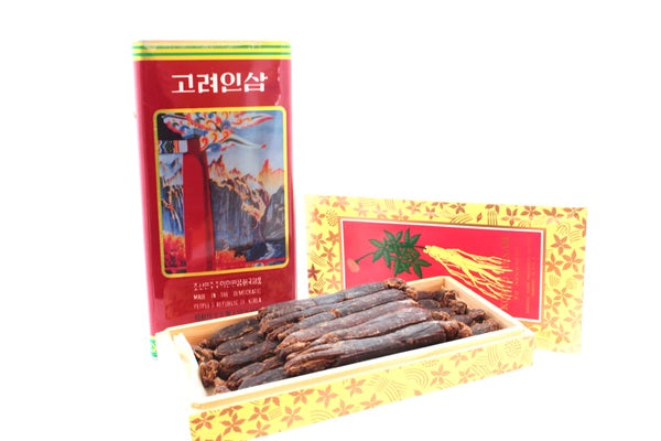 Korean Ginseng Supplement Poster
