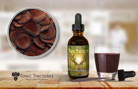 Tonic Tinctures Deer Antler Velvet Fresh Batch
