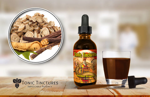 Tonic Tinctures Golden Dragon Fresh Batch