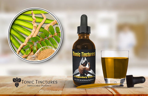 Tonic Tinctures Legendary Elixir Fresh Batch