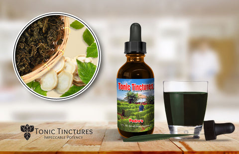 Tonic Tinctures Pedro's Fresh Batch