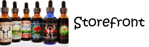Tonic Tinctures Storefront