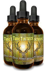 Tonic Tinctures Deer Antler Velvet 3 Pack