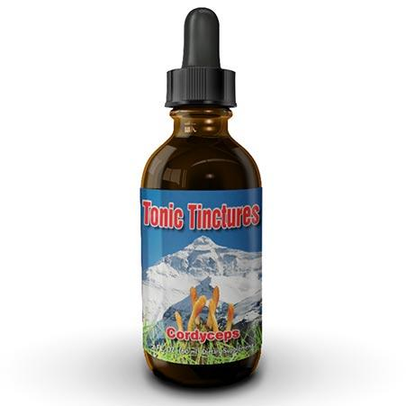 Tonic Tinctures Cordyceps Mushroom Extract Liquid Tincture 1 Pack