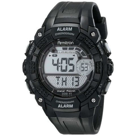 Men's Digital Water-Resistant Sports Watch