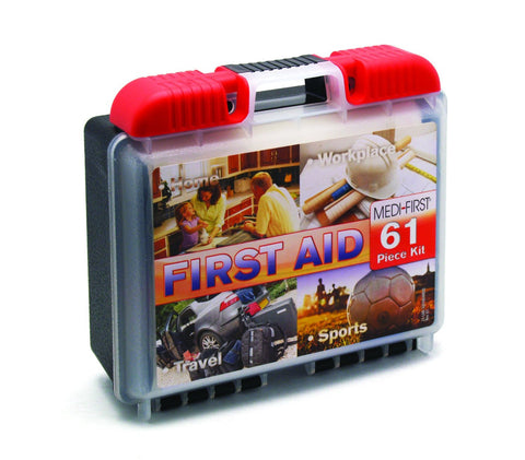 First Aid Kit, 61-Piece