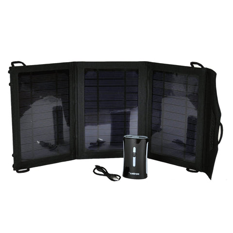 Solar Panel Portable Charger with Dual USB