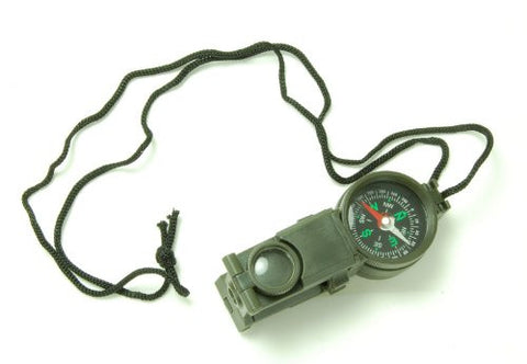 Multi-Tool - Compass, Mirror, and Binocular