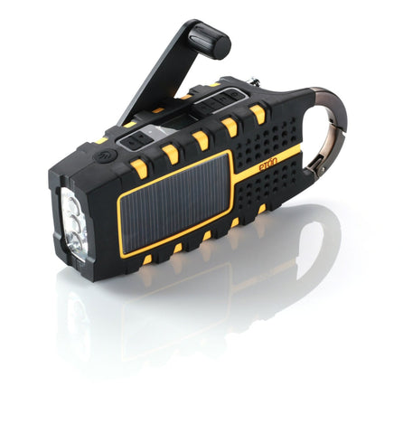 Multi Purpose Digital Radio with Solar and Crank Power